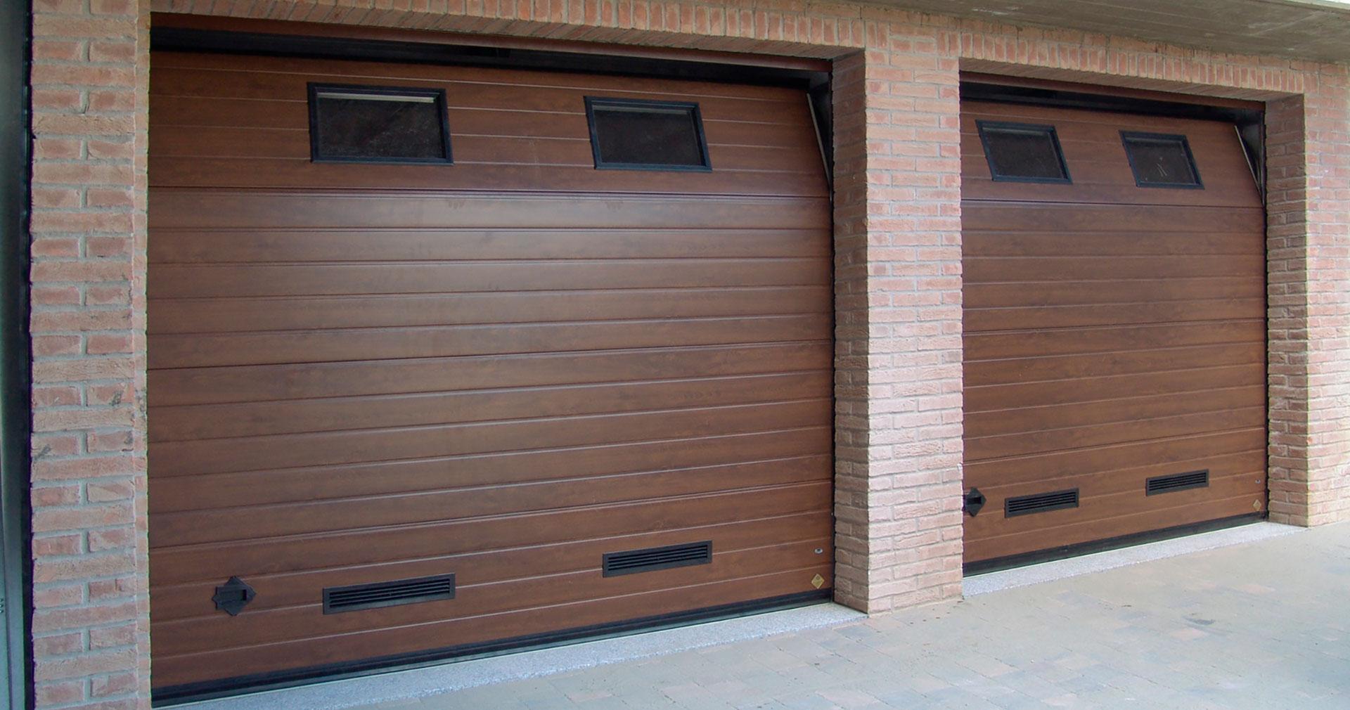 puertas automáticas seccionales para residenciales
