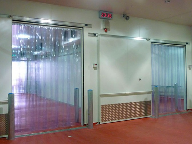 Cortinas industriales pvc